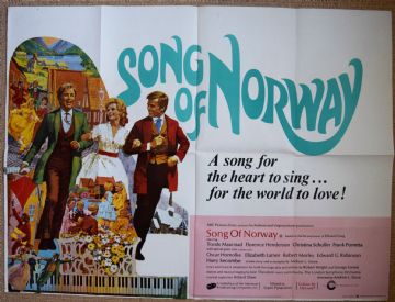 Song of Norway Movie Poster - UK Quad Poster | timelessmoviemagic